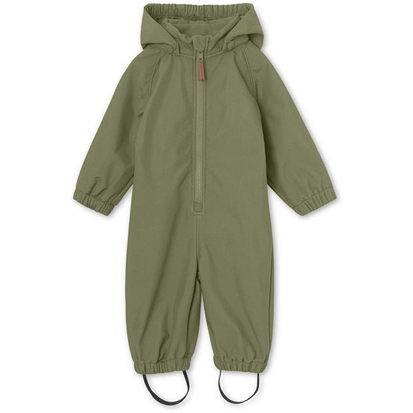 Mini A Ture Softshell Dragt - Olivine Green