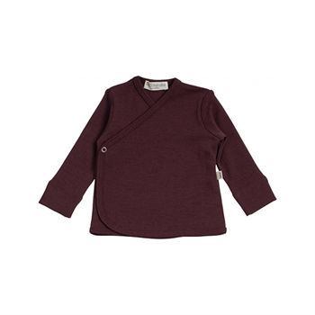 Minimalisma Also Wrap Cardigan - Raisin