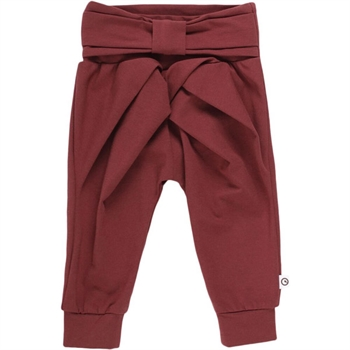 Müsli Cozy Me Bow Pants - Chocolate