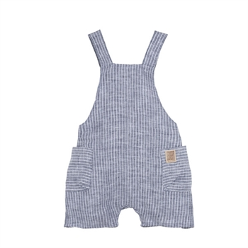 Pure Pure Mini Romper - Blue Stripes