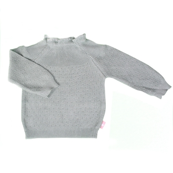 Selana Sweater Bomuld - Grey