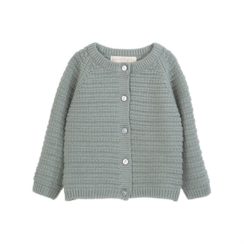 Serendipity Texture Baby Cardigan Shade
