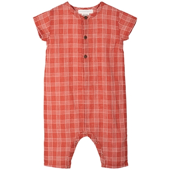 Serendipity Berry Checks Baby Suit