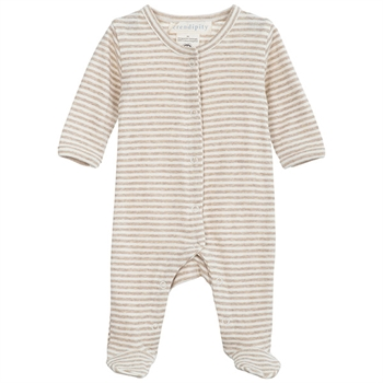 Serendipity Oat/Offwhite Newborn Suit