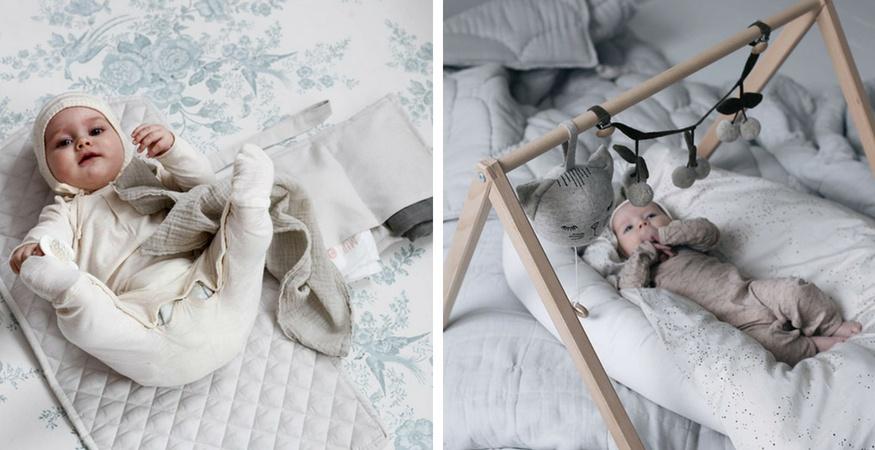 nyfødt baby tøj