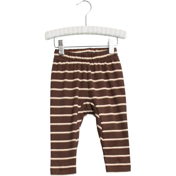 Wheat Brown Stripe Baby Pants