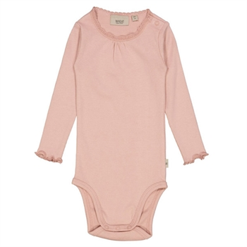 Wheat Misty Rose Rib Body