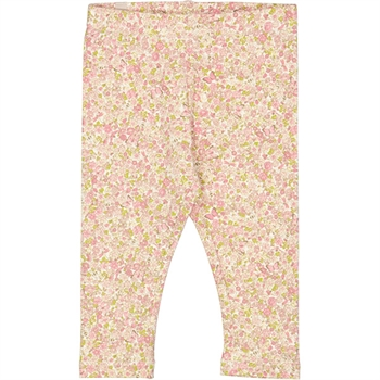 Wheat Bees And Flowers Baby Leggings