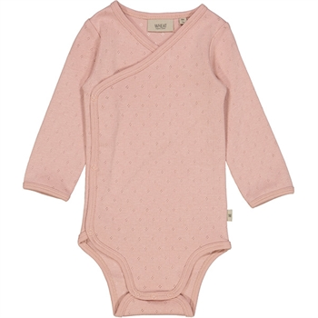 Wheat Misty Rose Pointelle Newborn Body