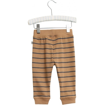 Wheat Caramel Stripe Baby Pants