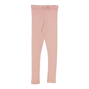 Wheat Misty Rose Rib Leggings