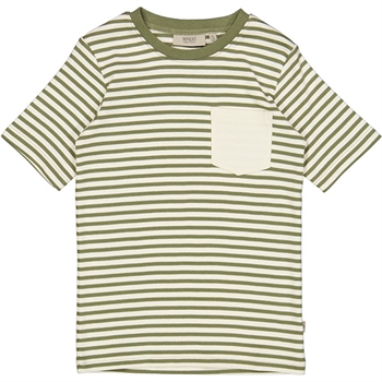 Wheat Sage/Offwhite Frode T-shirt