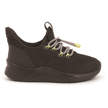 Woden Kids Vilde Knit Sneakers - Black