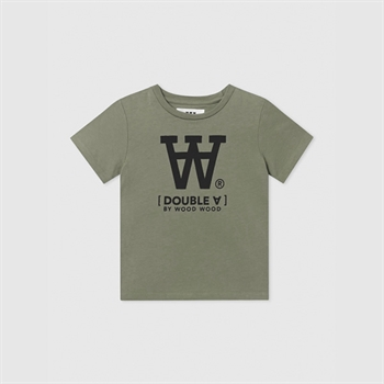 Wood Wood Double A T-shirt Army Green