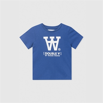 Wood Wood Double A T-shirt Blue