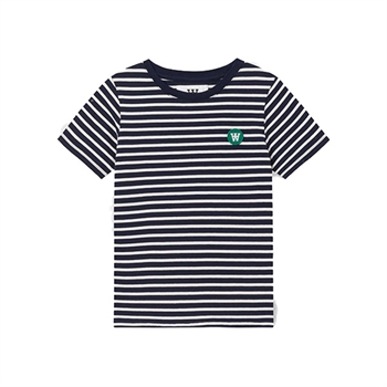 Wood Wood Ola T-shirt Navy/Offwhite